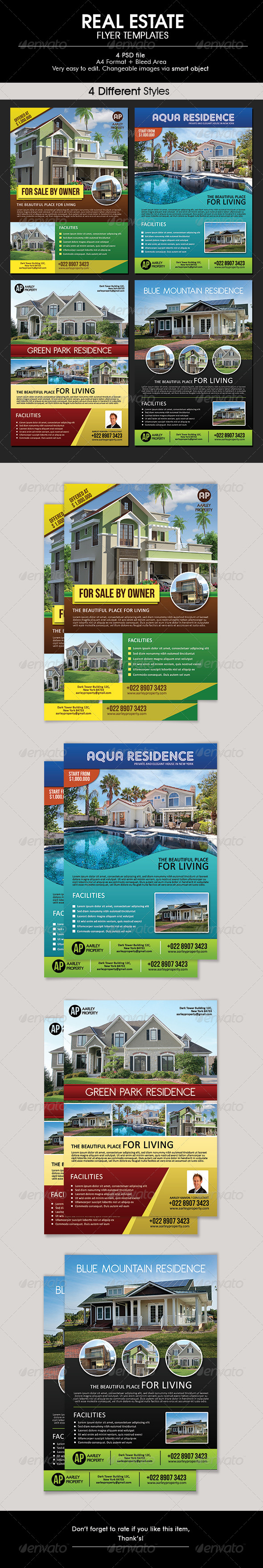 GraphicRiver Real Estate Flyer 6395908