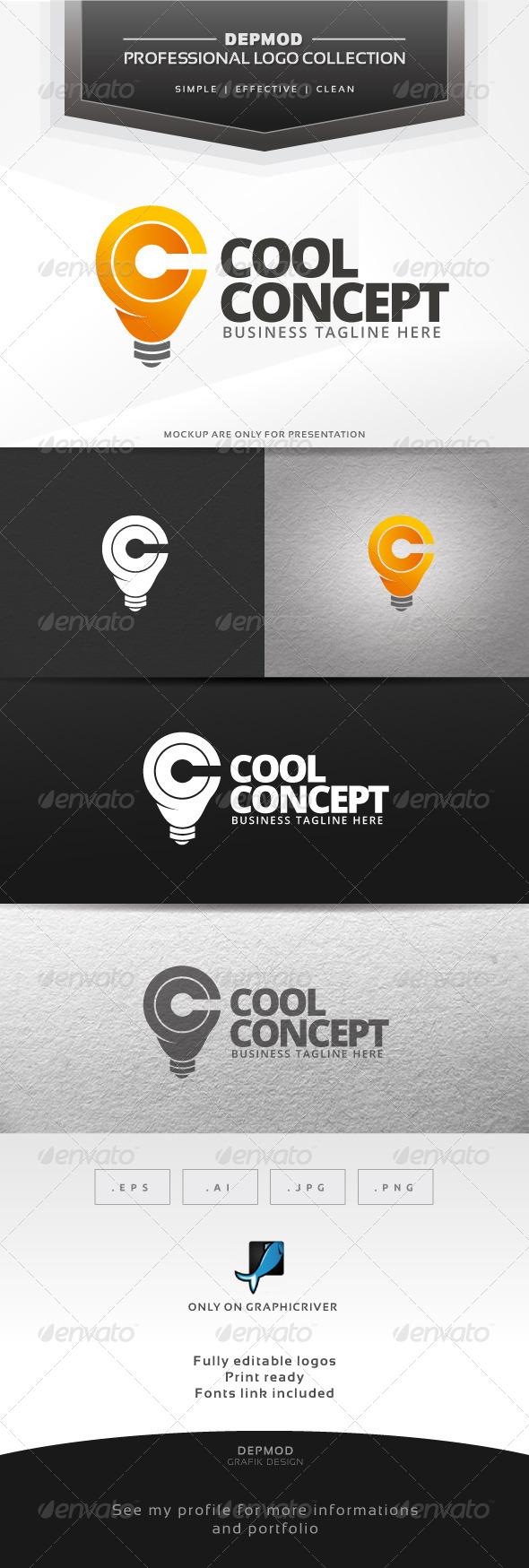 GraphicRiver Cool Concept Logo 6395955