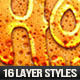 16 Liquid Layer Styles - GraphicRiver Item for Sale
