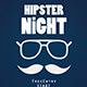 Hipster Flyer / Poster - GraphicRiver Item for Sale