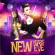 New Years Eve Bash Flyer - GraphicRiver Item for Sale