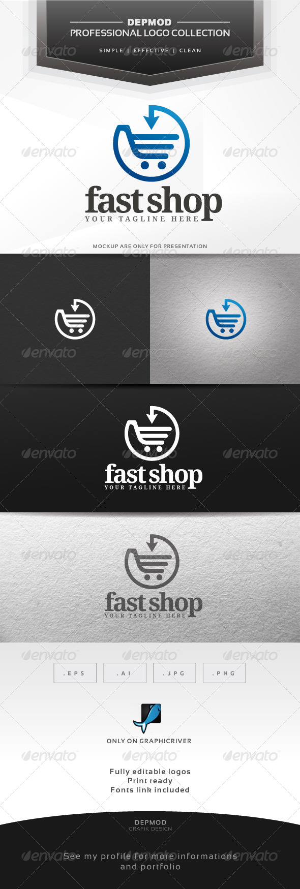 GraphicRiver Fast Shop Loog 6396780