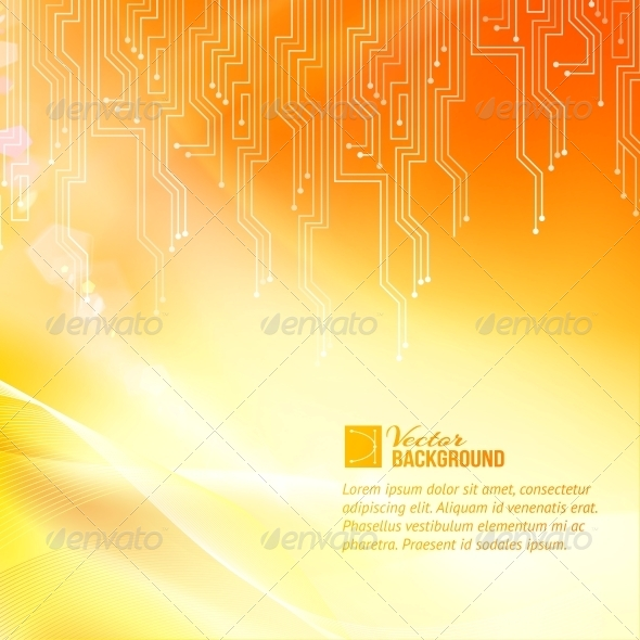 GraphicRiver Colored Circuit Abstraction 6398132