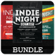 Indie Night - Flyers Bundle [Vol.5] - GraphicRiver Item for Sale