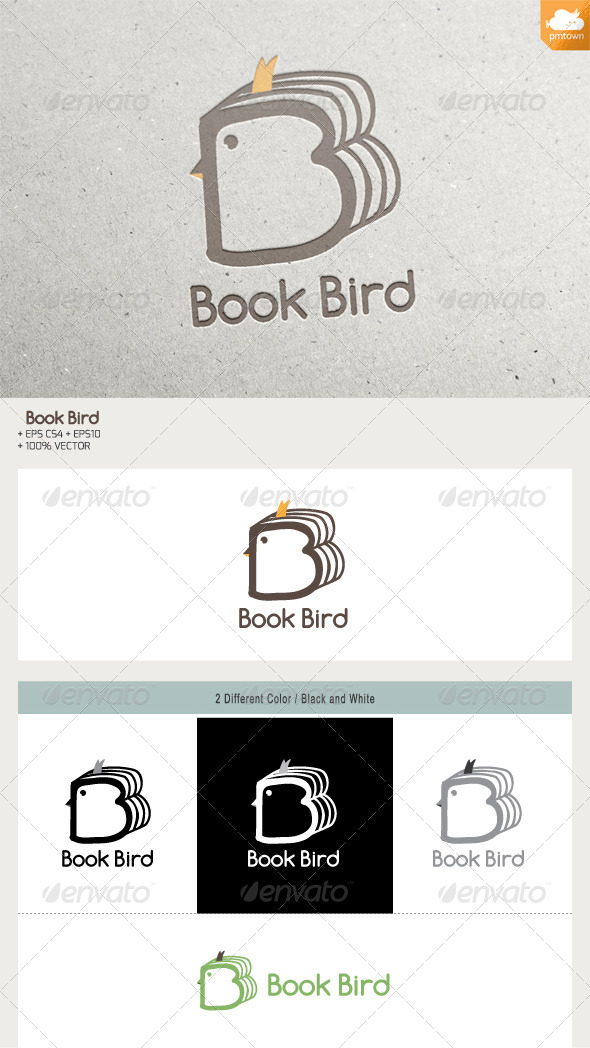 GraphicRiver Book Bird 6399558
