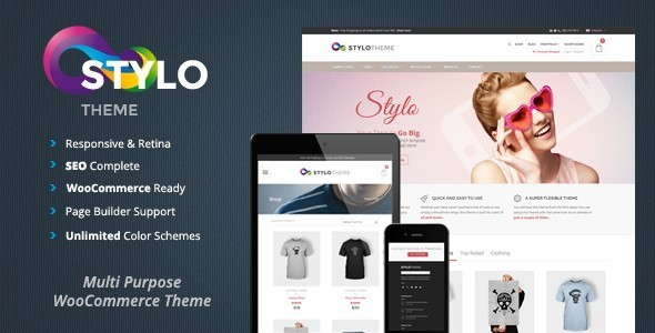 ThemeForest Stylo Responsive Multi-Purpose Theme 6365723