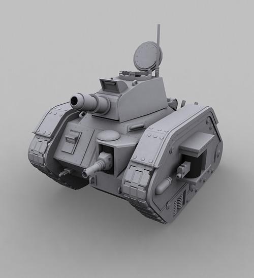 3DOcean Leman Russ Tank 667330