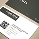 Simple Corporate Business Card 1.0 - GraphicRiver Item for Sale