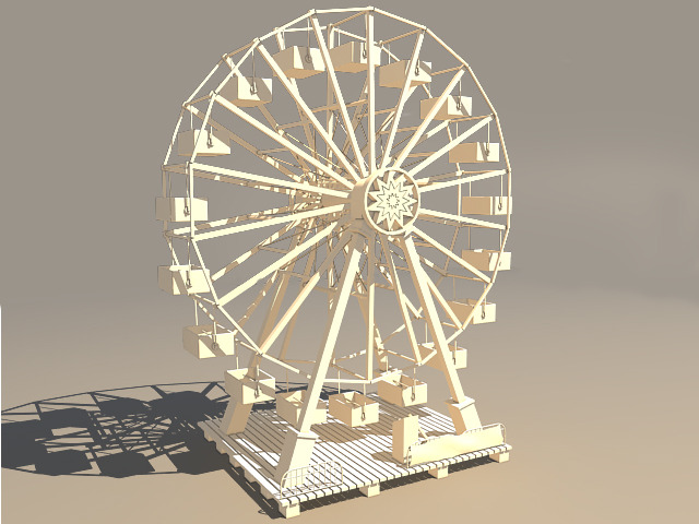 3DOcean Ferris Wheel 667340
