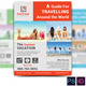 Tour Travel Business Flyer  v2 - GraphicRiver Item for Sale