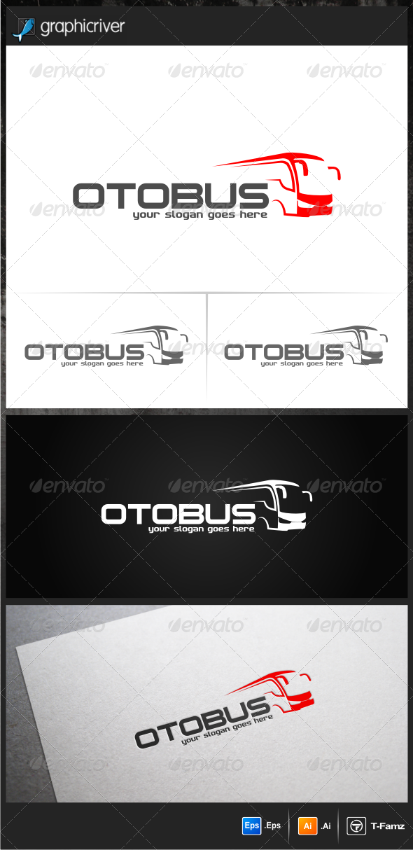 Otobus Logo Templates - Objects Logo Templates