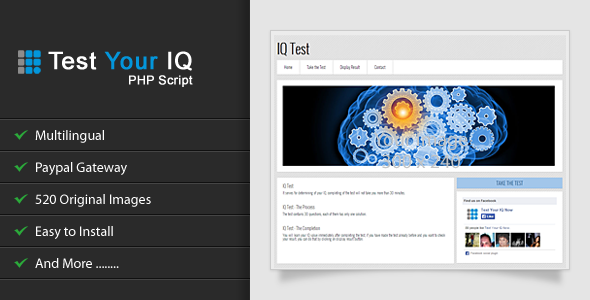 CodeCanyon Test Your IQ 6400433