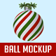 Christmas Ball Mockup - GraphicRiver Item for Sale