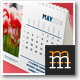 Desk Calendar-5 2014 - GraphicRiver Item for Sale