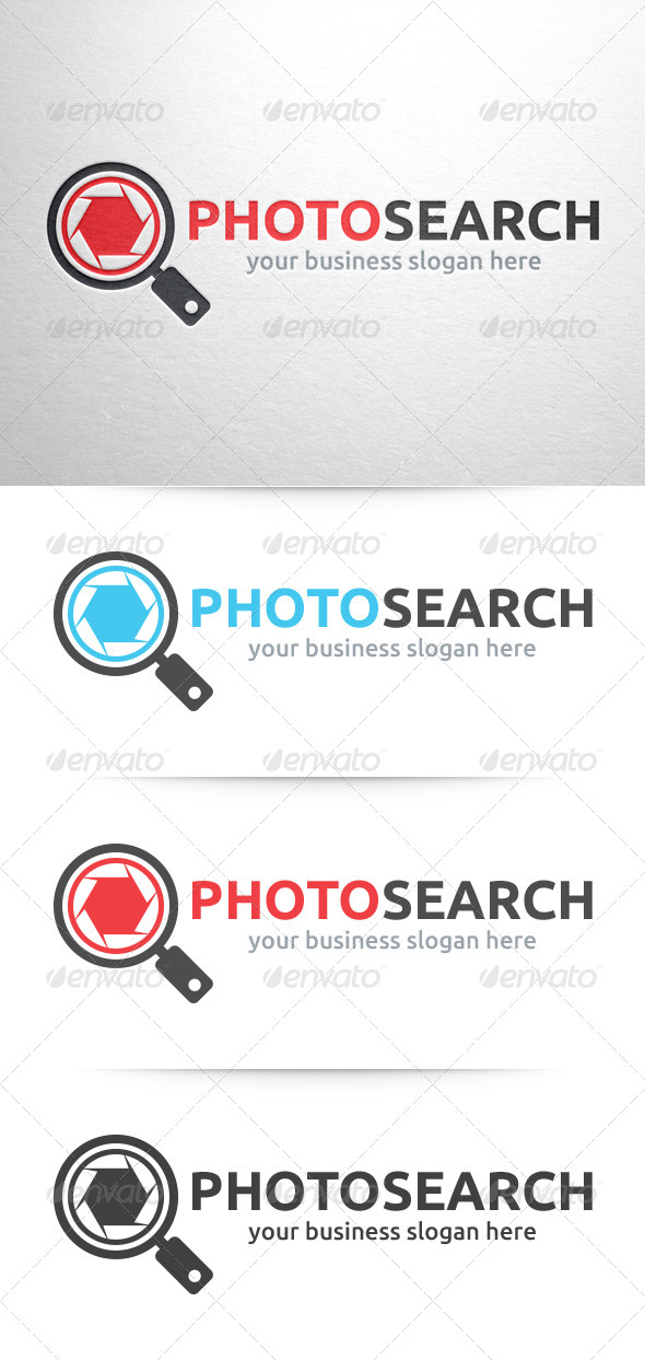 GraphicRiver Photo Search Logo 6404746