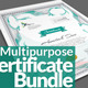 Multipurpose Certificates Bundle - GraphicRiver Item for Sale