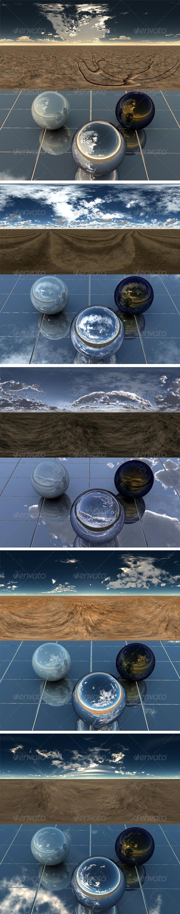 3DOcean Pack Desert 7 6406695