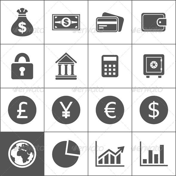 GraphicRiver Money Icons 6407541