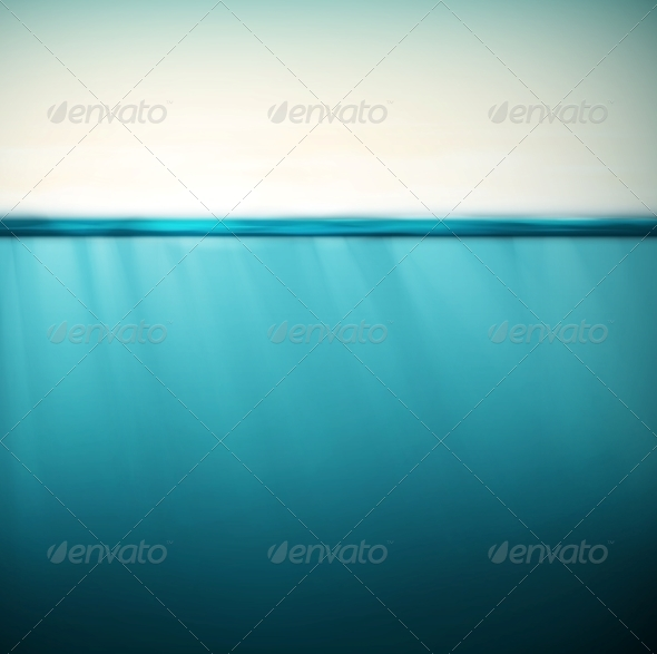 GraphicRiver Underwater Background 6408246