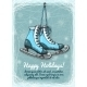 Skate Holidays Winter Invitation - GraphicRiver Item for Sale