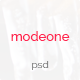 ModeOne - A Clean PSD Template - ThemeForest Item for Sale