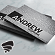 Creative Words Business Card 59 - GraphicRiver Item for Sale