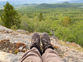 Resting taiga hiker Yukon Territory Canada - PhotoDune Item for Sale