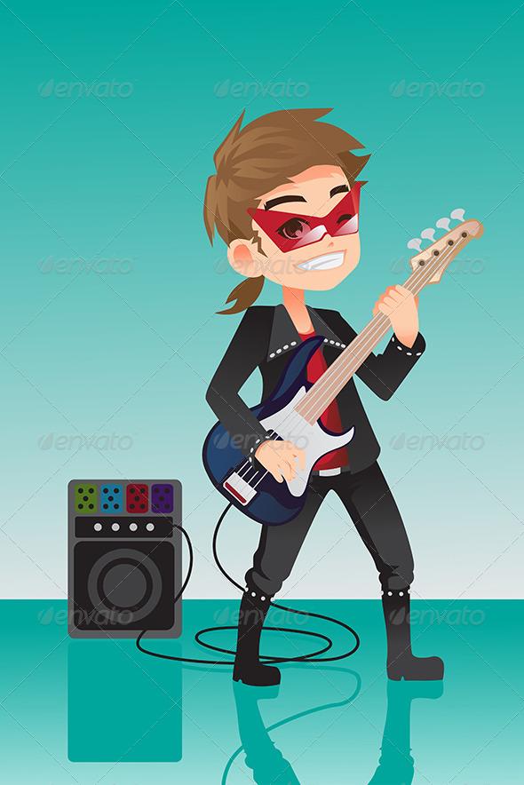 GraphicRiver Kid Rocker 6412845