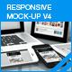 myResponsive screen mock-up V4 - GraphicRiver Item for Sale