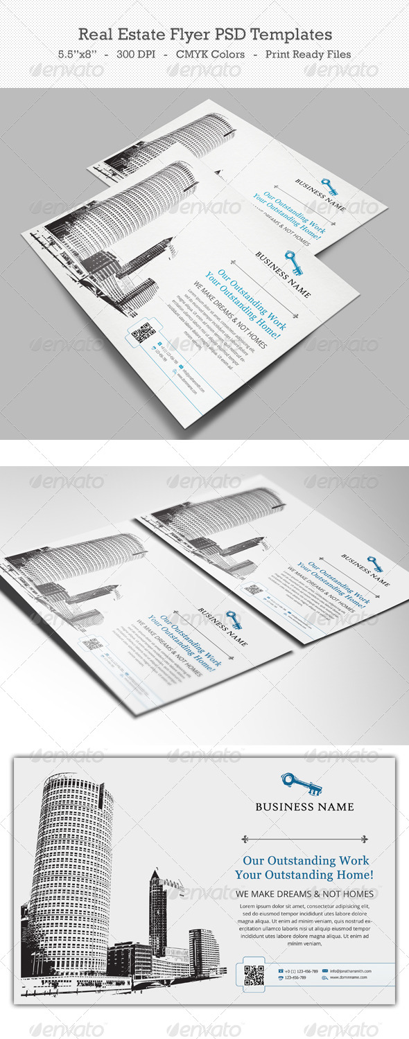 GraphicRiver Real Estate Flyer PSD Templates 6412872