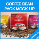 Coffee Bean Pack Mock-up - GraphicRiver Item for Sale