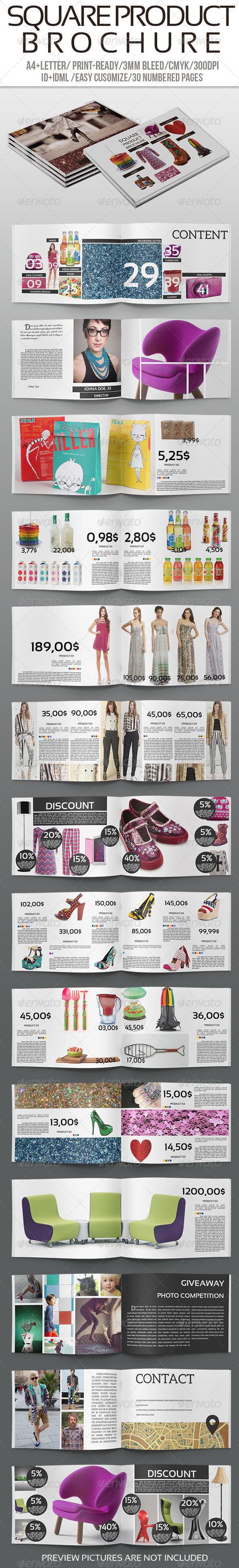 GraphicRiver Square Product Brochure 6378167