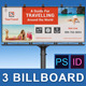 Travel Zone Business Billboard v2 - GraphicRiver Item for Sale
