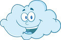 Happy Cloud Cartoon Character - PhotoDune Item for Sale