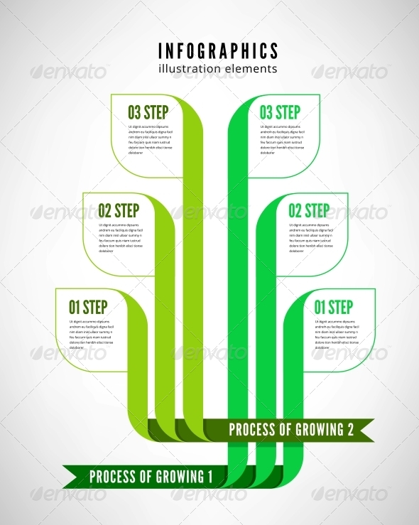 GraphicRiver Infographics Process 6415975