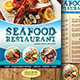 Seafood Restaurant Menu Fly-Graphicriver中文最全的素材分享平台