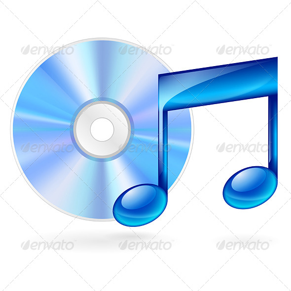 GraphicRiver Music Icon 6416011