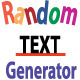 Random Text Generator - ActiveDen Item for Sale