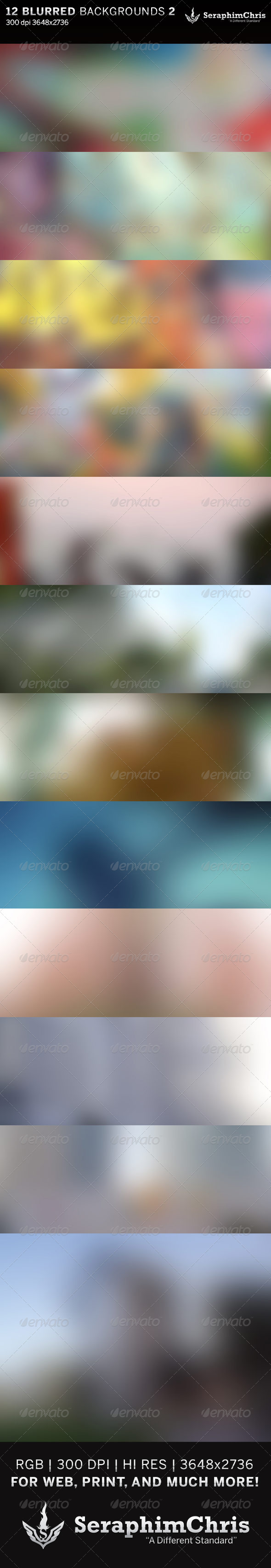 GraphicRiver 12 Abstract Blurred HD Backgrounds 6416166