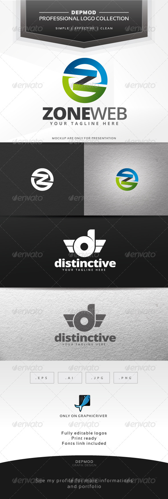GraphicRiver Zone Web Logo 6416699