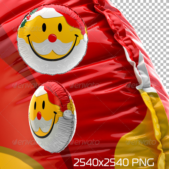 GraphicRiver Smiley Balloon Christmas 6416836
