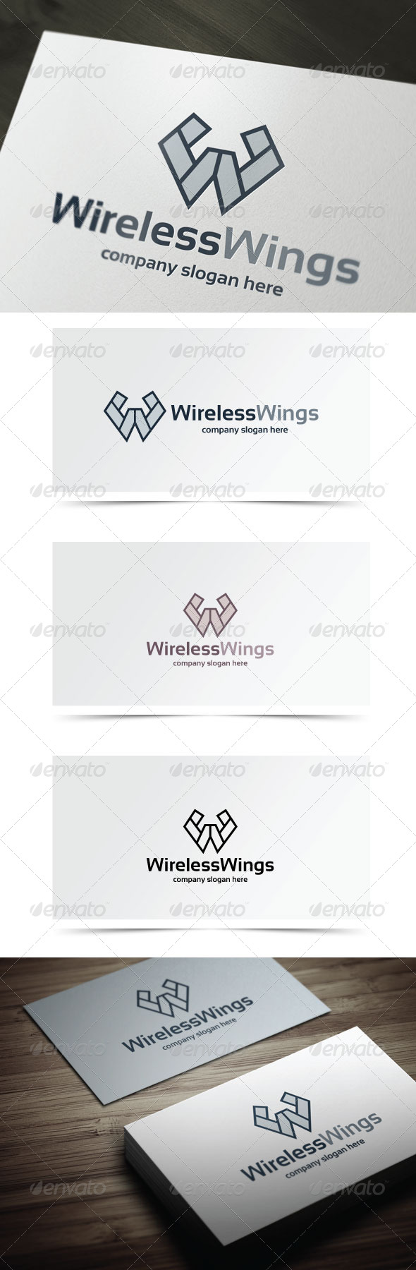 GraphicRiver Wireless Wings 6418163