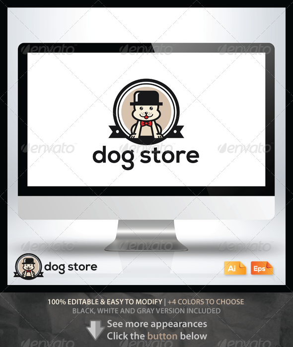 GraphicRiver Dog Store 6405308