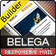 BELEGA-Flat Responsive Email With Template Builder - ThemeForest Item for Sale