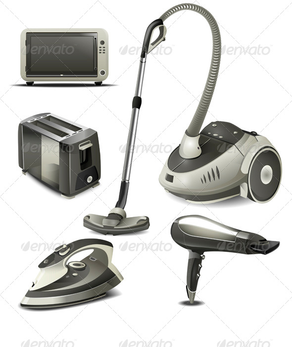 GraphicRiver Household Appliances 6417964