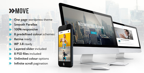 ThemeForest Move Responsive OnePage Parallax WordPress Theme 6420454