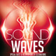 Sound Waves Flyer PSD 7 - GraphicRiver Item for Sale