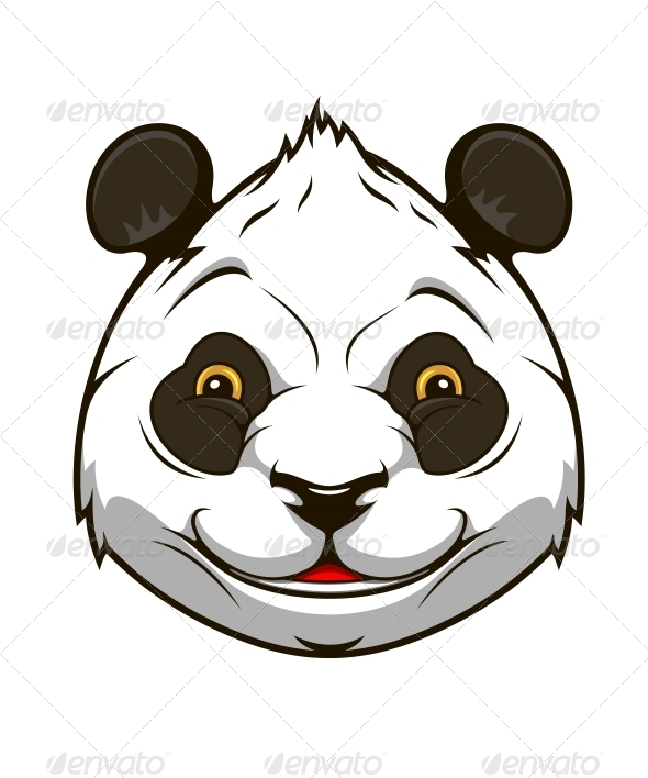 GraphicRiver Cartoon Panda Bear 6421108