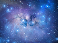 Blue Nebula With fine dust formations - PhotoDune Item for Sale