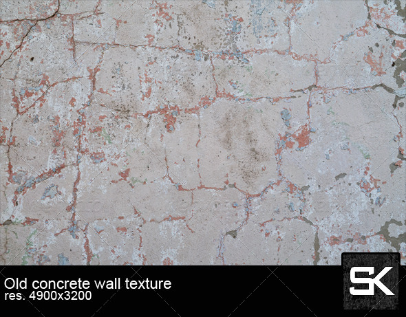 GraphicRiver Old Concrete Wall 6421382